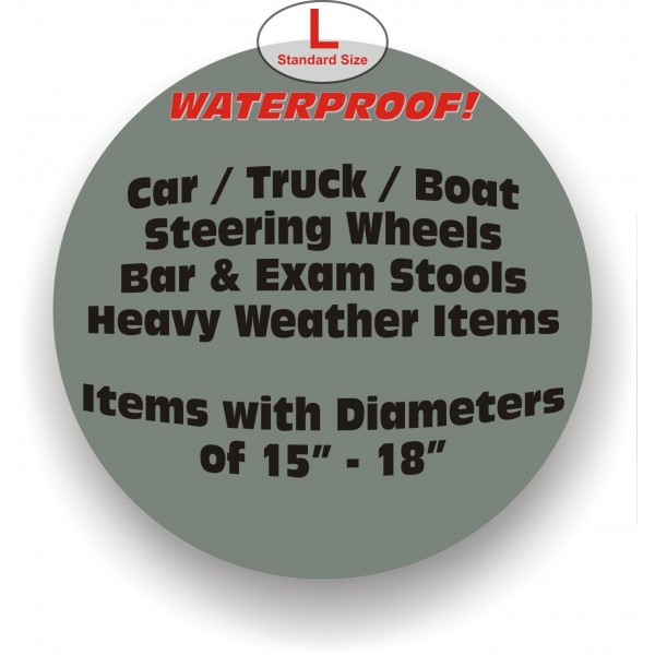 "CC/Waterproof Stretchable Covers - L - Standard 15"" - 18"""