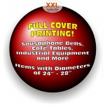 "AA/Stretchable Covers - XXLFC Jumbo 24"" - 28"" FULL COVERAGE PRINTING (on white material)"